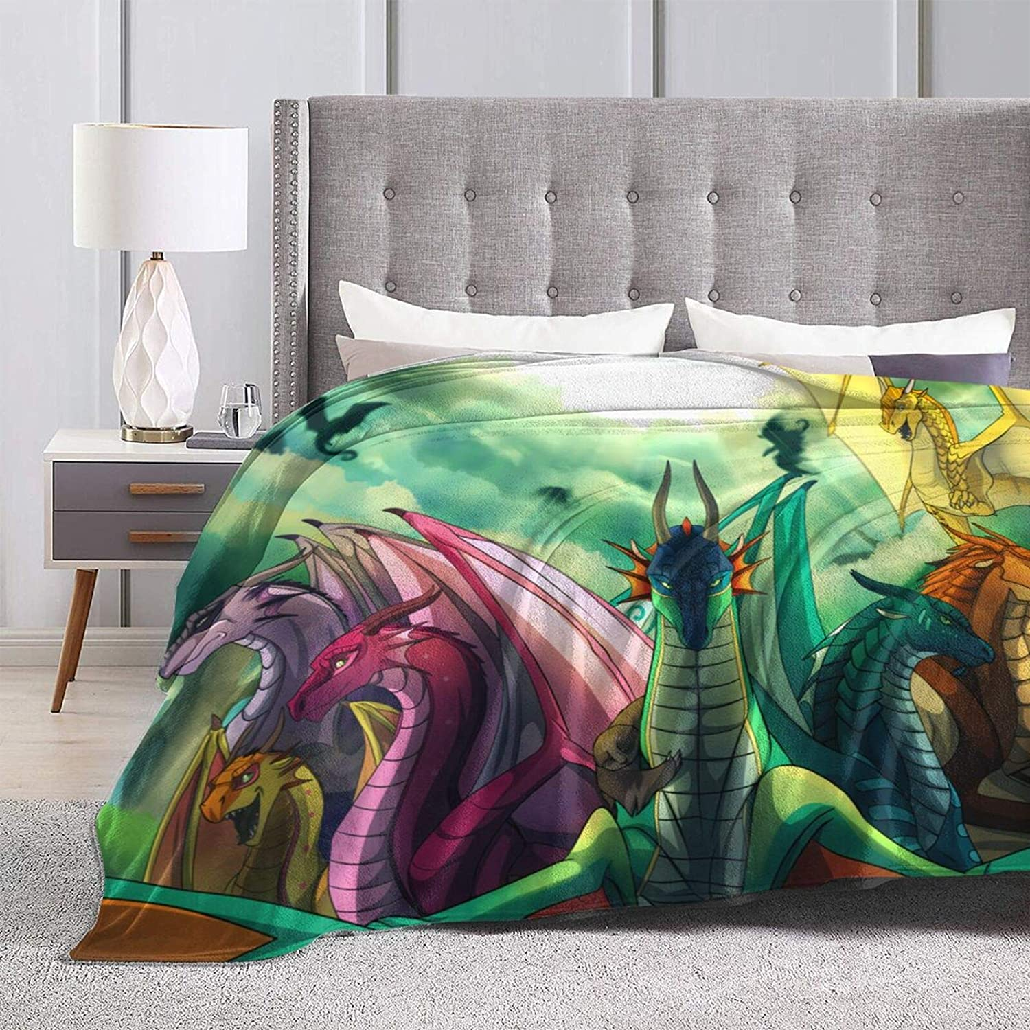 Wings-of-Fire Blanket Fleece Microfiber for Branded Courier shipping free shipping goods Sofa Couch Su Or Bed