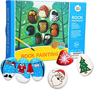 Jar Melo Rock Painting Kit; Non-Toxic; Rock Art; Creative Colorful Magic Stone; Art Creativity; Arts and Crafts Kits for Adults and Kids