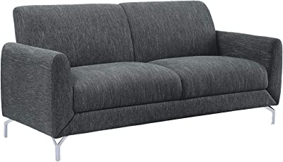 Amazon.com: Rivet Revolve Mid-Century Modern Loveseat Sofa ...