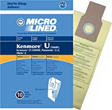 20 Bags for Kenmore Upright Vacuum 5068 50688 50690 Type U O Microlined
