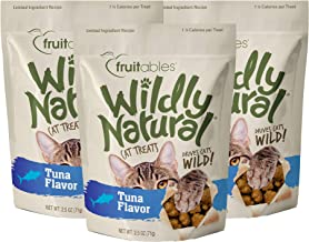 product image for Fruitables Wildly Natural 2.5 Ounce Grain Free Tuna Treat for Cats Pack of 3