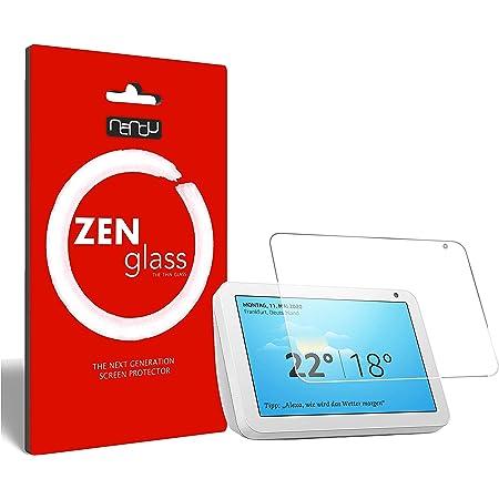 ZenGlass Nandu Pellicola Protettiva in Vetro Compatibile con Amazon Echo Show 8 I Protezione Schermo 9H