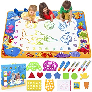 Water Doodle Mat – Kids Painting Writing Doodle Toy Mat – Color Doodle..