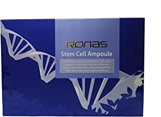 Ronas Stem Cell Ampoule 30ea.Advanced Anti Aging Formula.Dermatologists Approved and Recommended as Best Anti Aging Solution.Plant Stem Cells Rejuvenate your Skin.Korean Esthetician's