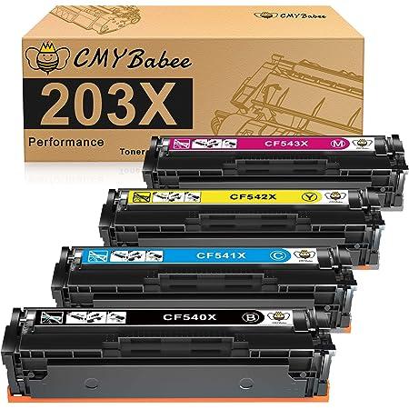 Hp 203a Cf540a Original Toner Für Hp Laserjet Pro M254 Hp Laserjet Pro M280 Hp Laserjet Pro M281 Schwarz Bürobedarf Schreibwaren