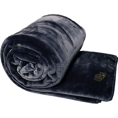 Solaron Classic Bengal Tiger Korean Thick Mink Soft Plush King Size Blanket Blue