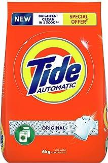 Tide Automatic Powder Laundry Detergent, Original Scent, 6 kg