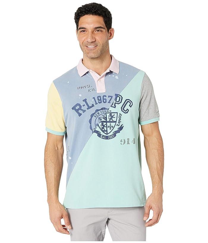 New POLO RALPH LAUREN Men/'s Classic Short Sleeve  AQUA Polo Shirt Pocket  sz LG