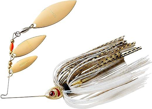 Booyah Shad Blade-Bait Fishing Lure, Pearl Shiner, Mini Shad (3/16 oz)
