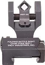 Troy Industries Folding Di-Optic Aperture Tritium Battle Sight Rear