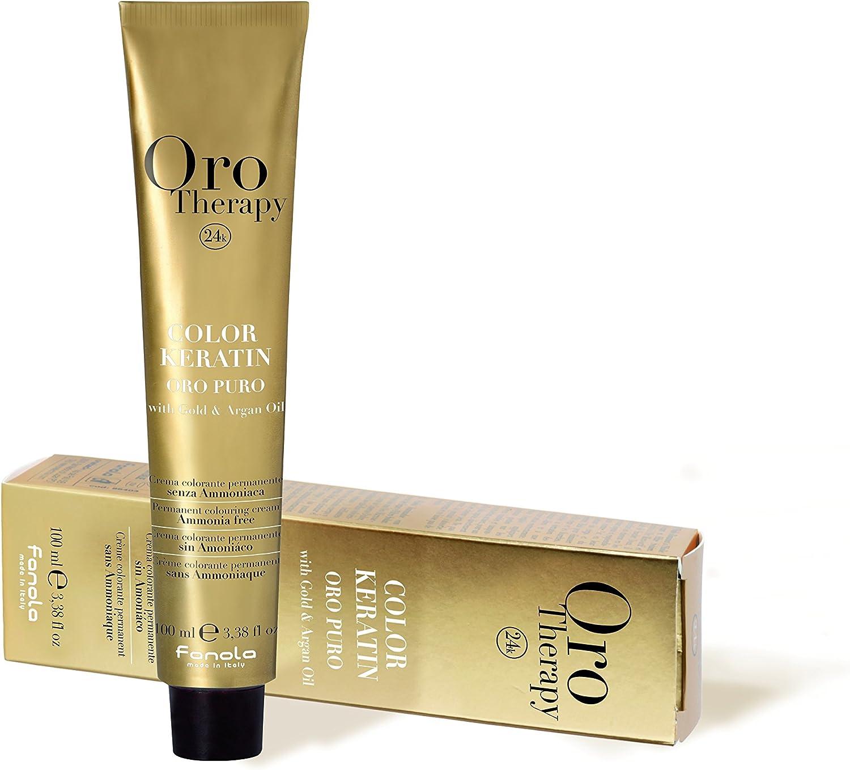 Fanola Oro Therapy 4.0 Chestnut coloración del cabello Marrón 100 ml - Coloración del cabello (100 ml, Marrón, Chestnut, Mujeres, 1 pieza(s), 100 ml, ...