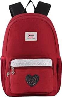 Casual School Backpack for Girls Women College Teenagers Student Waterproof Book Bag for girls in 16 inch
