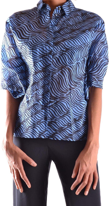 KENZO Women's MCBI15854 bluee Other Materials Shirt