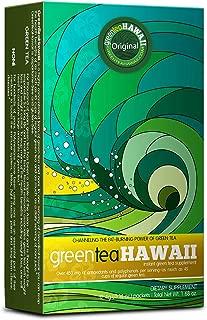 Green Tea Hawaii - 12 Packets - Starter Pack Original flavor