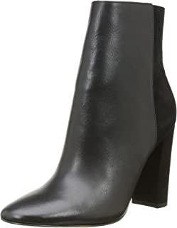 Buffalo London Women's 132209 Vegetal Nobuck Cowboy Boots, Black (Black 01), 6.5 UK