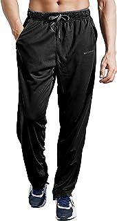 ZENGVEE Tracksuit Trousers Men Lightweight Joggers Men Elasticated Waist Athletic Sweatpants Mens Tracksuits Bottoms with ...