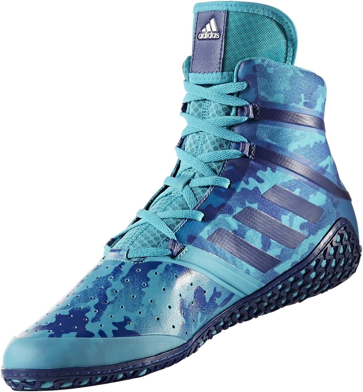 Adidas Impact Men's Wrestling shoes, Turqouise Camo Print, Size 13