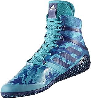adidas Impact Men's Wrestling Shoes, Turqouise Camo Print, Size 11