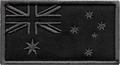 LEGEEON ACU Australia Flag Subdued Morale Tactical Tab Badge Army Gear Embroidery Fastener Patch