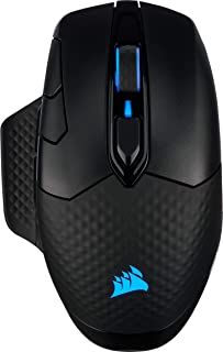 Corsair Dark Core RGB Pro SE, Wireless FPS/MOBA Gaming Mouse with SLIPSTREAM Technology, Black, Backlit RGB LED, 18000 DPI...