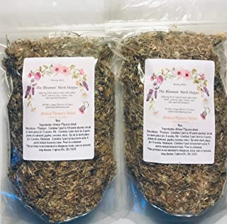 Arnica Flowers Dried | 8oz | salves Ointment | Heterotheca inuloides | The Bloomin Herb Shoppe | Bulk | You Will Receive (2) 4 oz pkgs or (1) 8oz pkg | Creams tinctures salves soaks Pain Relief