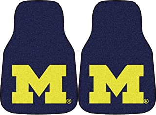 Fanmats Michigan Wolverines Carpeted Car Mats