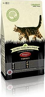 James Wellbeloved Turkey And Rice Dry Adult Cat Food - 1.5kg