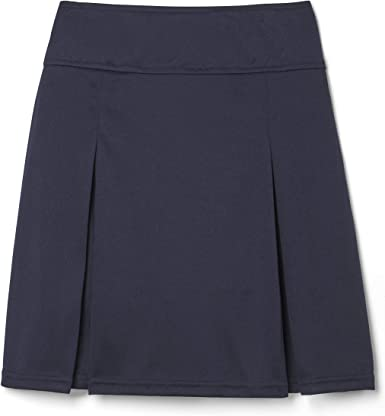 French Toast Girls Size Pull-on Kick Pleat Scooter Navy 10-12 Plus