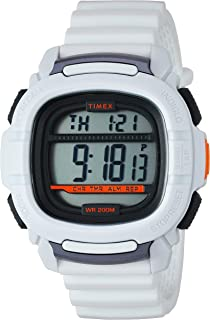 Timex Men's TW5M26400 Command 47mm White Silicone Strap Watch