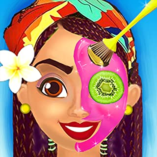 BFF Summer Face Spa Salon: Girls Makeover Game