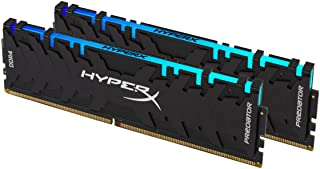 Kingston 16GB (2x8GB) 3200MHz CL16 HyperX Predator RGB DDR4 HX432C16PB3AK2/16