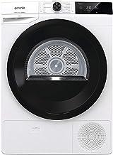 Gorenje DEH82/G / 8kg / Wärmepumpentrockner / Glastür / Edelstahltrommel / LED-Display / AirRefresh / Knitterschutz