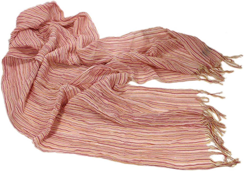 """Irish Scarf Linen & Cotton Blend 20"""" x 98"""" Made in Ireland"""
