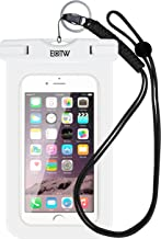 EOTW Waterproof Phone Pouch, IPX8 Universal Waterproof Case Bag Fit for iPhone Xs Max XS XR X Samsung Galaxy s10/s9/s8 up to 6.5
