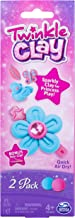 Spin Master Twinkle Clay - Blue and Pink 2pk with Bonus Hair Clip