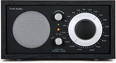 Tivoli Audio Model One AM/FM Table Radio in Black/Silver (M1BBS)