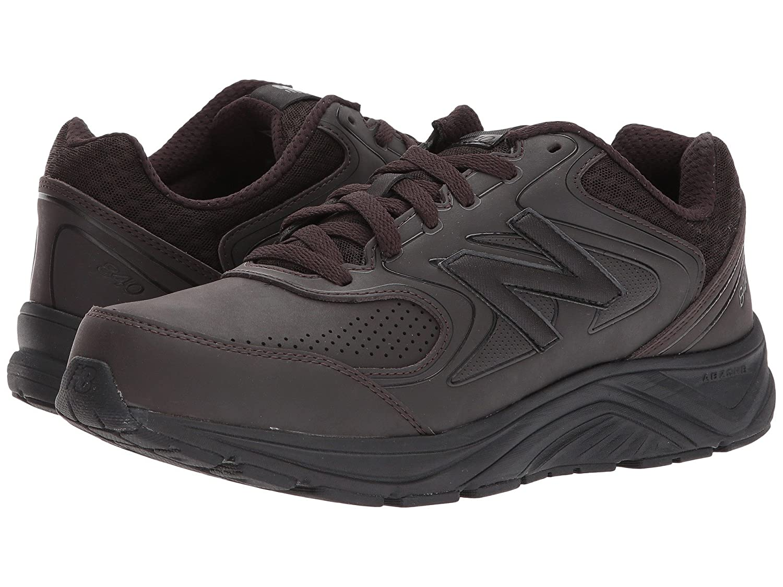 (ニューバランス) New Balance メンズウォーキングシューズ?靴 MW840v2 Brown/Brown 13 (31cm) EE - Wide