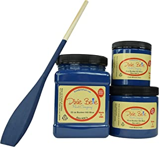 Dixie Belle Paint Company Chalk Finish Furniture Paint (Bunker Hill Blue) (32oz)
