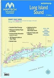 Long Island Sound Maptech Waterproof Chartbook 5th Edition