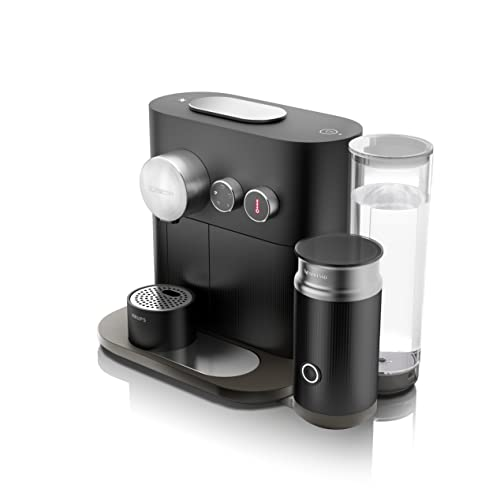 Nespresso Krups Expert Milk XN6018 - Cafetera monodosis de cápsulas Nespresso, controlable con smartphone mediante