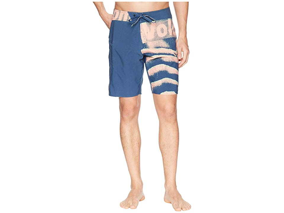 Volcom Liberate Mod 19 Boardshorts (Smokey Blue) Men
