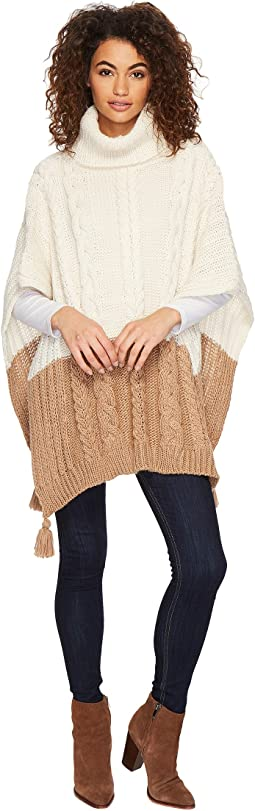 BCBGeneration - Cable Knit Poncho