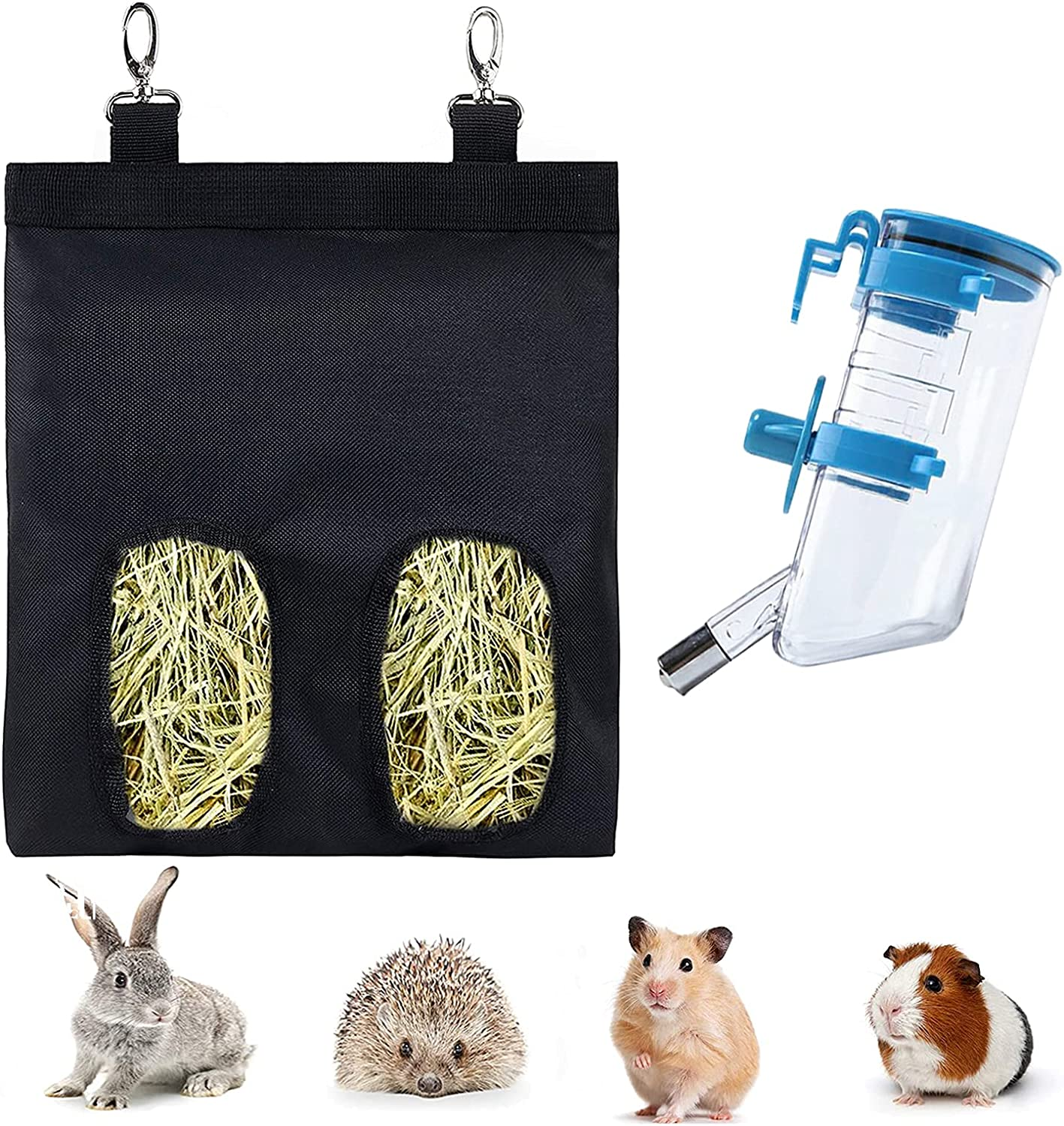 Guinea Pig Feeder Hay Manufacturer direct Weekly update delivery Bag Rabbit with Hanging Au Food Fabric