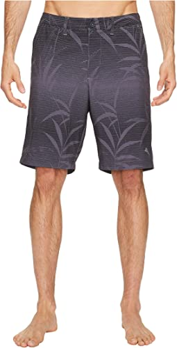 Tommy Bahama Cayman Floral Stripe Swim Trunk