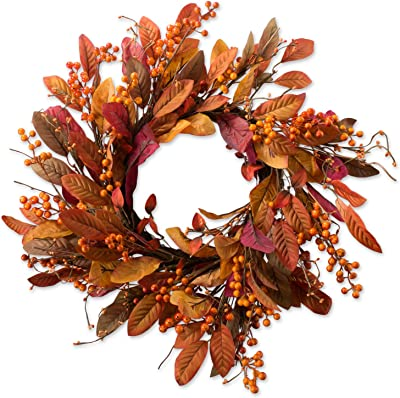 DII Halloween Collection Wreaths & Bags, 20x20, Fall Harvest