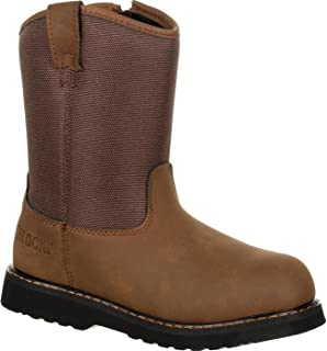 Rocky Boys' Lil Ropers Outdoor Boot Round Toe - Rks0359c