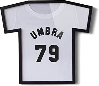 Umbra, Black T-Frame, Unique Display Case to Showcase Youth Sized T-Shirts (Small to Large)