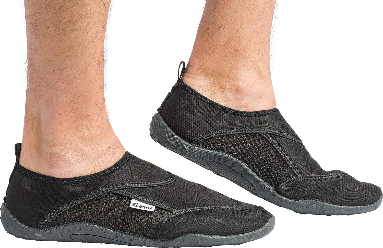 Cressi Unisex's Coral Premium Beach Shoes, Black