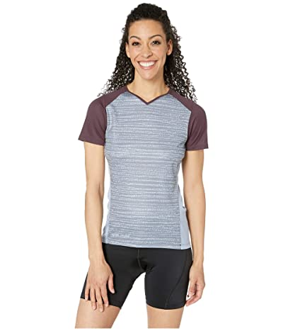Pearl Izumi Launch Jersey (Plum Perfect/Eventide Vert) Women