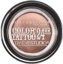 Maybelline New York Eyestudio ColorTattoo Metal 24HR Cream Gel Eyeshadow, Bad to the Bronze, 0.14 Ounce (1 Count)